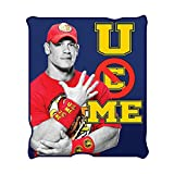 WWE WE0721 John Cena Fleece Throw Blanket, 50 x 60