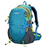 Cheap Doleesune Outdoor Hiking Daypacks Climbing Cycling Backpack Hiking Backpacking Packs Waterproof Mountaineering Bag 35l 8103(blue)
