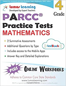 Common Core Assessments and Online Workbooks: Grade 4