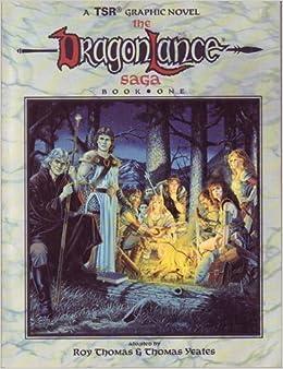 Image result for dragonlance saga graphic novel