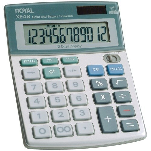 - Royal Compact Desktop Solar Calculator