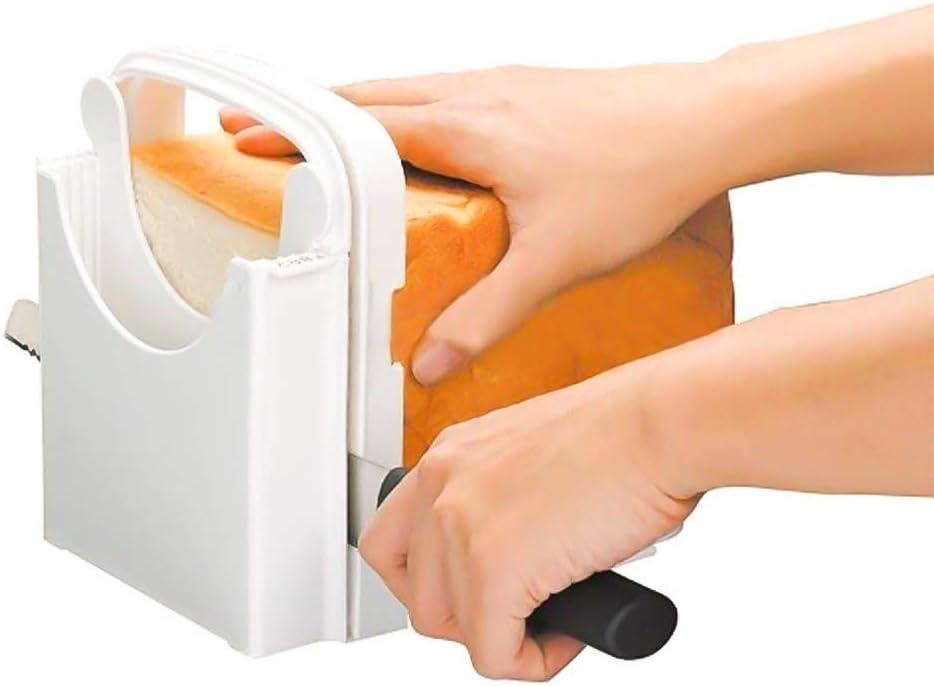 Multifonction Toast Guide de Coupe Pliante et r/églable 4/pour Machine /à Pain Machine /à Pain pour Maison /à Pain Petits Pains Ronds /à Pain Sandwich trancheuse /à Pain