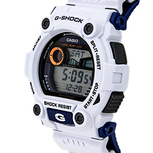 Casio G-Shock Digital Mens White Tide Graph Watch G-7900A-7DR   Amazon.com.au  Fashion ffa646f5e