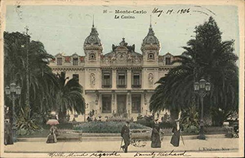 The Casino Monte Carlo, Monaco Original Vintage Postcard from CardCow Vintage Postcards