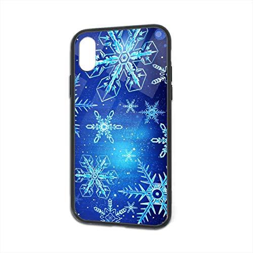 Blue Snowflakes iPhone X/XS Case 5.8