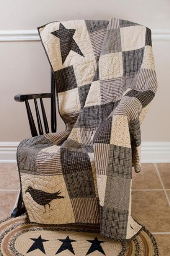 Lasting Impressions Kettle Grove Patchwork Throw Quilt ()
