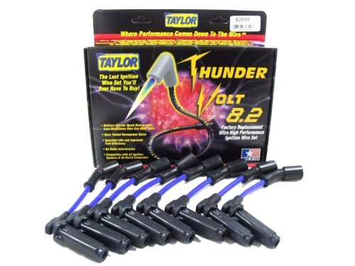 Taylor Cable 82644 ThunderVolt 40 ohm Ferrite Core Performance Ignition Wire Set by Taylor Cable ()