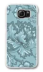 Floral Serene1 Polycarbonate Hard Case Cover for Samsung S6/Samsung Galaxy S6 Transparent Kimberly Kurzendoerfer