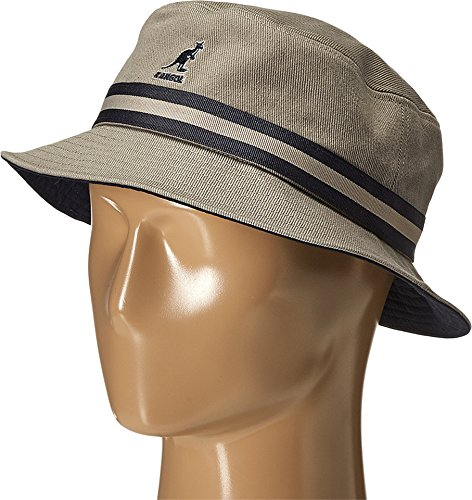 Kangol Men's Stripe Lahinch, Grey, Medium ()