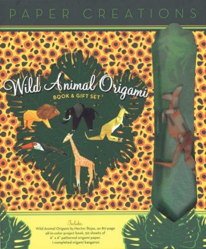 (ePaper Creations: Wild Animal Origami Book & Gift Set (Easy)