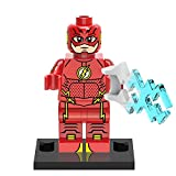 2016 new 8 PCS/lot DC Super Heroes Minifigures Reverse Bane Flash Atom Arkham Knight Block Toys children gifts Compatible with Legoed