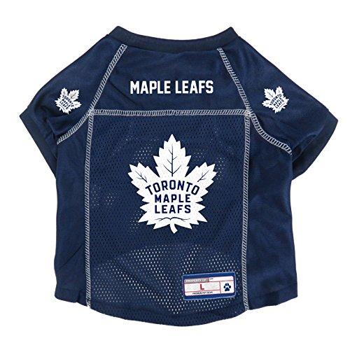 (NHL Toronto Maple Leafs Pet Jersey, Large)