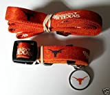 Hunter University of Texas Pet Combo Set (Collar, Lead, ID Tag), X-Small