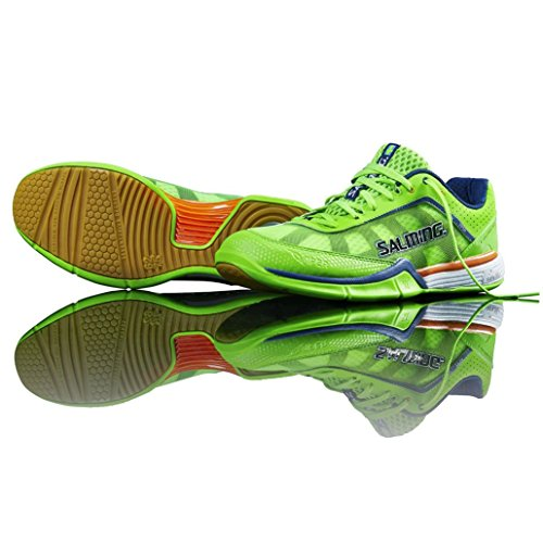 discounts online hot sale cheap online Salming Viper Mens Court Shoes Green 2MaOkpG1k