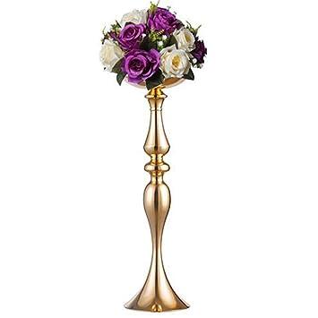 Amazon De Hochzeit Party Blumenstand Eisener Hoher Kerzenstander