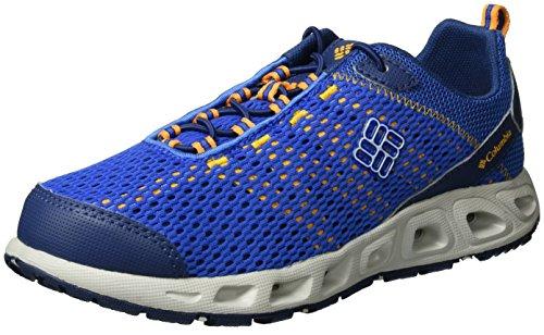 ColumbiaYouth Drainmaker Iii - Zapatillas de running para chico Azul (Stormy Blue, White 427)