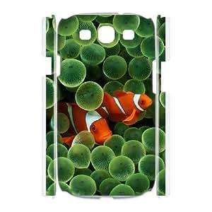 Samsung Galaxy S3 I9300 Phone Case Colorful fish Q3S33W8501