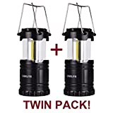 LED Camping Lantern - Difficulty Camping Lantern IP54 for Hiking Emergencies Hurricanes Outages Storms,2 Pack