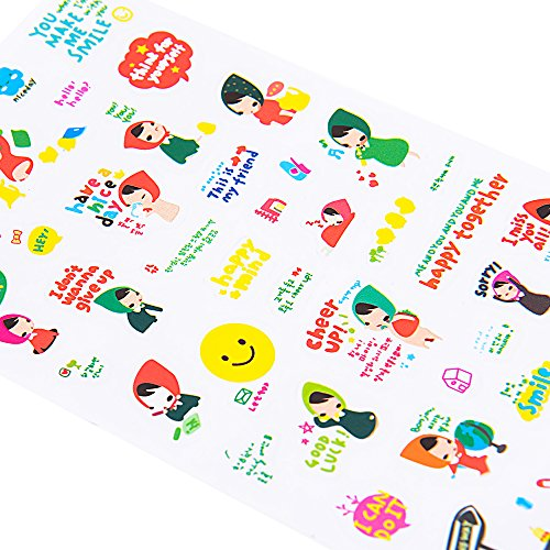 Christmas Sticker Collection Set of 1344+ PCS-Variety Sticker Pack-7 PVC Sticker Sheets Per Pack-Decorative Sticker Collection for Scrapbooking, Bullet Journals,Calendars, Arts, Kids DIY Craft, Album. by sinceroduct (Image #4)