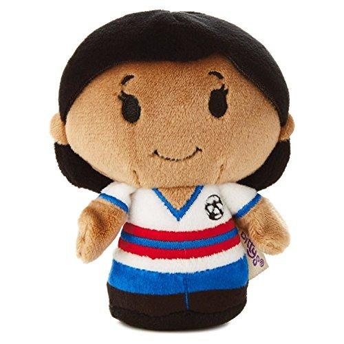 Hallmark Itty Bittys KDD1211 Limited Edition Soccer Player Girl