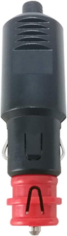 Europ/äischer Standard Zigarettenanz/ünder Stecker DIY Netzteil f/ür Auto und Motorrad Zigarettenanz/ünder 2 St/ück