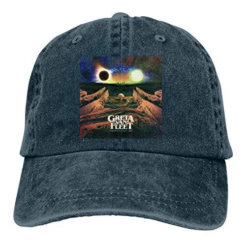 DonaldKAlford Greta Van Fleet Anthem of The Peaceful Army Adjustable Hat Breathable Unisex Casual Baseball Cap,Sun Hat -