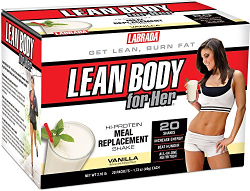 Labrada Nutrition Lean Body for Her Meal Replacement Shake,