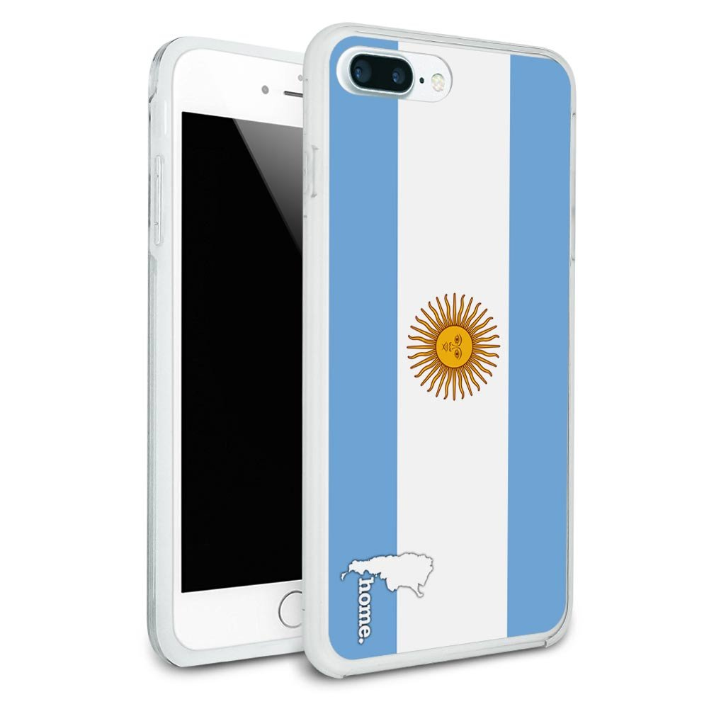 f7b2d35468c Argentina Home Country Flag Protective Slim Hybrid Rubber Bumper Case for  Apple iPhone 7 or iPhone 7+ Plus - iPhone 7 Plus (fits larger Plus model  only)