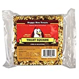 """Happy Hen Treats 6.5 Oz. Square, Mealworm and Corn, 4.25"""" by 4.25"""" by 1.25"""""""