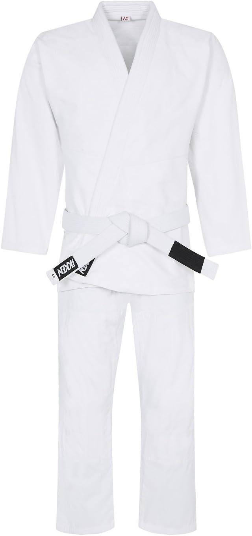 IKKEN Shoshin S-450 Jiu Jitsu Bresilien BJJ Gi Kimono 100/% Coton