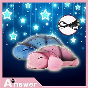 Amazon.com: Lámparas para niños regalo tortuga LED luces de ...