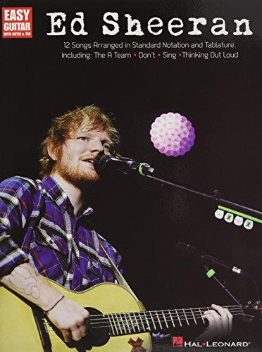 Ed Sheeran for Easy Guitar: Easy Guitar with Notes & Tab (Easy Guitar Play Along)