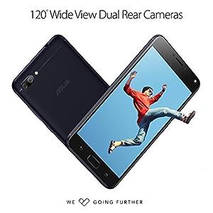 ASUS ZenFone 4 Max 5.2-inch HD 2GB RAM, 16GB storage LTE Unlocked Dual SIM Cell Phone, US Warranty, Black (ZC520KL-S425-2G16G-BK) (Certified Refurbished)