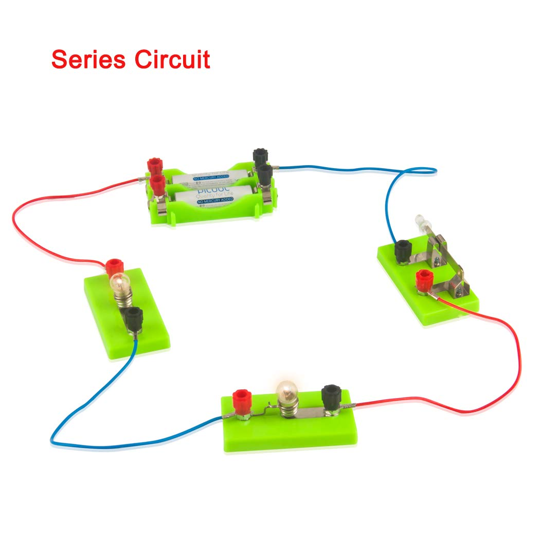 Osoyoo Electricity Science Kitseries Circuit Parallel Series Breadboard Wiring Harness Diagram Circuiteducation Learning Toysscience Physical Education Equipmentlearning By Doing