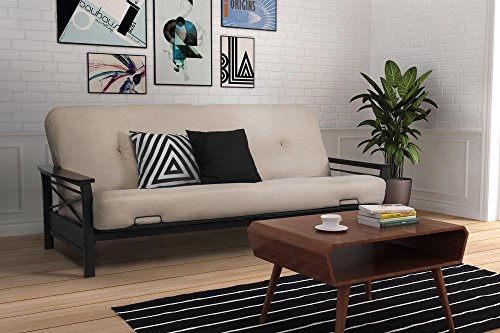 dhp-nadine-metal-futon-frame-with-espresso-wood-armrests-full