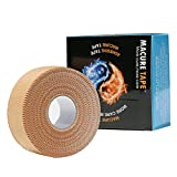 Macure Rigid Strapping Tape 1 inches x 15 yards (pack of 2 rolls)