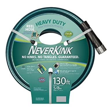 Teknor Apex 8615-130 Neverkink Heavy Duty Water Hose, 5/8-Inch by 130-Feet