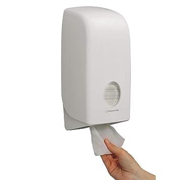 Kimberly-Clark profesional Aquarius de la tarjeta doblada dispensador de papel higiénico: Amazon.es: Bricolaje y herramientas