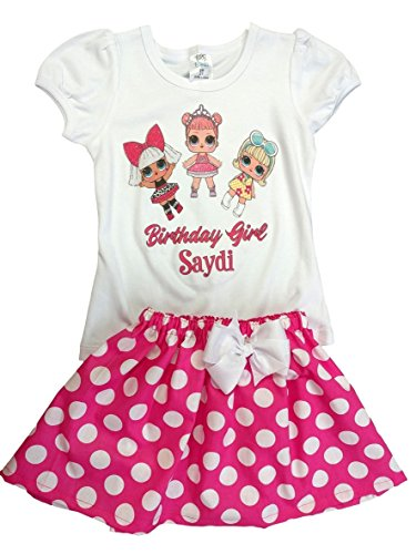 LOL Girls outfit LOL Surprise dolls girl shirts skirt Girl LOL dress Girl outfit