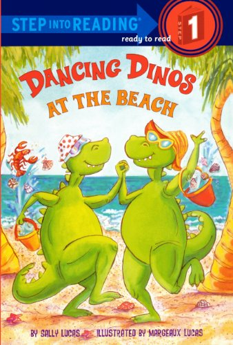 Dancing Dinos At The Beach (Turtleback School & Library Binding Edition) (Step into Reading, Ready to Read Step 1)
