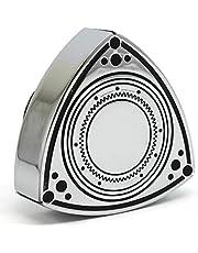 Aluminum Rotor Oil Cap - Chrome/Black - 55mm by Rotary13B1