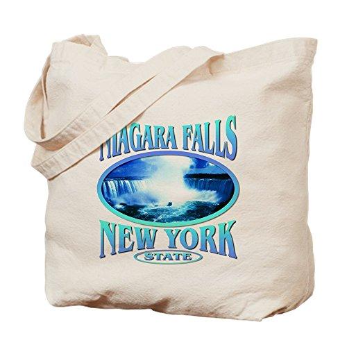 CafePress - Niagara Falls - Natural Canvas Tote Bag, Cloth Shopping - Niagara Shopping Ontario Falls