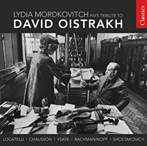 Lydia Mordkovich Pays Tribute to David Oistrakh