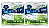 Freedom Living RV Toilet Paper - 2 Ply 8 Pack- Premium 500 Extra Soft Thick Sheets - Biodegradable Septic Tank Safe Rapid Dissolve Toilet Tissue for Camping, Marine, RV Holding Tanks