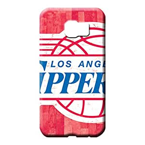 samsung galaxy s6 edge High Skin New Fashion Cases cell phone skins los angeles clippers nba basketball
