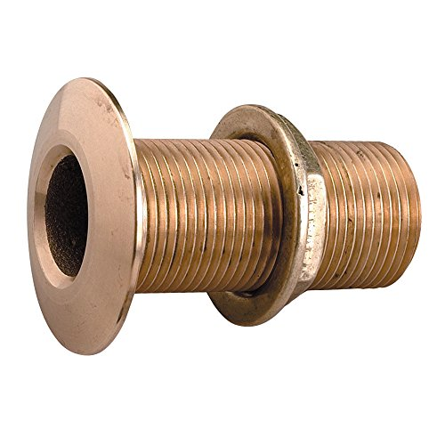 PERKO 0322DP6PLB / Perko 1 Thru-Hull Fitting w/Pipe Thread Bronze MADE IN THE USA