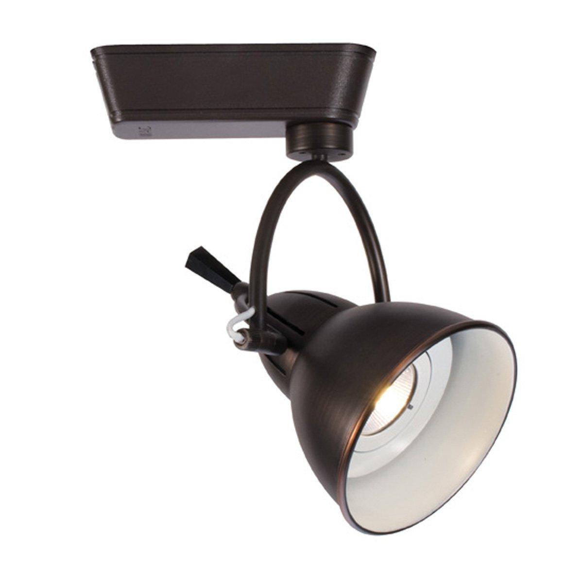 Amazon com wac lighting j led710s cw ab cartier led low voltage track fixture antique bronze home improvement