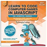 Simply Coding for Kids: Learn to Code Javascript - Video Game Design Coding Software - Computer Programming for Kids, Ages 11-18, (PC, Mac, Chromebook Compatible)