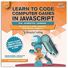 Give your children a leg up on the future with a fun, engaging way to learn JavaScript coding for video games! Get your kids away from the Xbox, Nintendo, or Playstation and start HELPING THEM NOW! Don't Let Them Consume It! Let Them Create I...