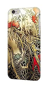 LJF phone case S0122 Yakuza Tattoo Case Cover for iphone 4/4s
